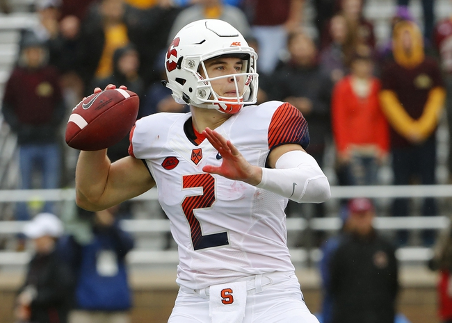 Syracuse Orange vs. NC State Wolfpack - 11/12/16 College Football Pick, Odds, and Prediction