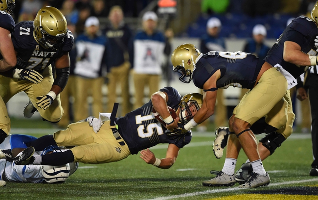 USF Bulls vs. Navy Midshipmen - 10/28/16 College Football Pick, Odds, and Prediction