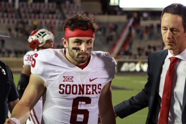 Oklahoma vs. Texas Tech - 10/28/17 College Football Pick, Odds, and Prediction