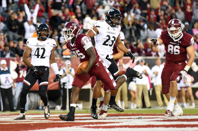 UCONN vs. Temple - 11/4/16 College Football Pick, Odds, and Prediction