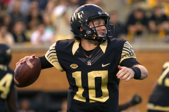 Wake Forest Demon Deacons vs. Virginia Cavaliers - 11/5/16 College Football Pick, Odds, and Prediction
