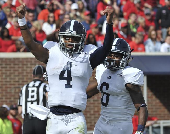 Georgia Southern vs. Louisiana-Lafayette - 11/10/16 College Football Pick, Odds, and Prediction