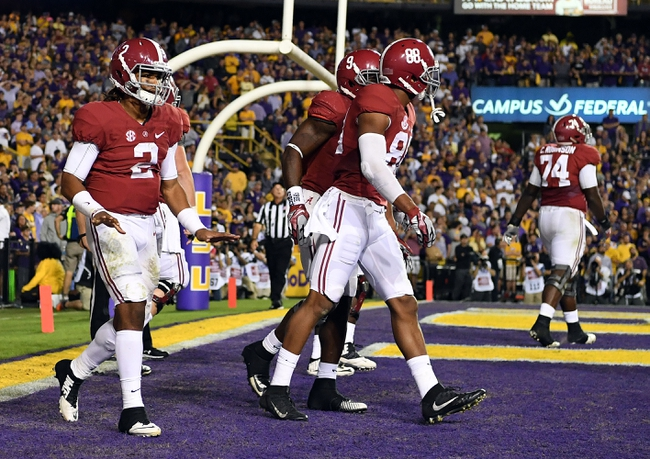 Alabama vs. Mississippi State - 11/12/16 College Football Pick, Odds, and Prediction