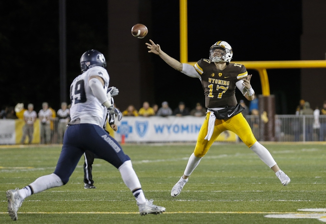 UNLV vs. Wyoming - 11/12/16 College Football Pick, Odds, and Prediction
