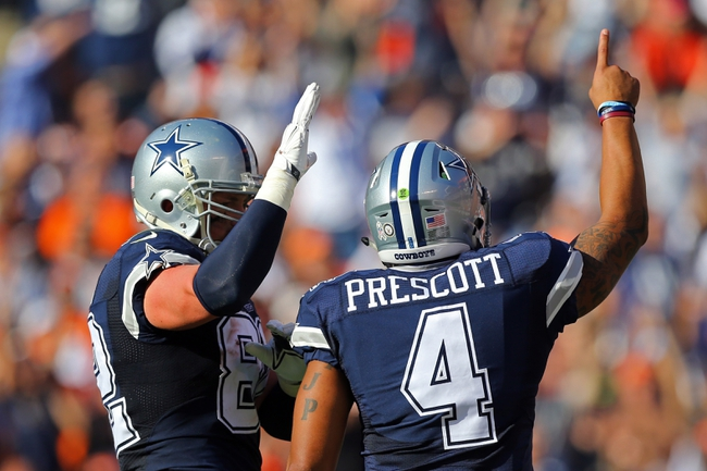 Pittsburgh Steelers vs. Dallas Cowboys - 11/13/16 NFL Pick, Odds, and Prediction
