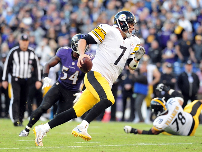 Baltimore Ravens at Pittsburgh Steelers - 12/25/16 NFL Pick, Odds, and Prediction