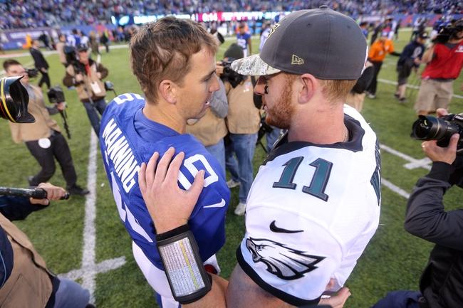 Philadelphia Eagles vs. New York Giants - 12/22/16 NFL Pick, Odds, and Prediction
