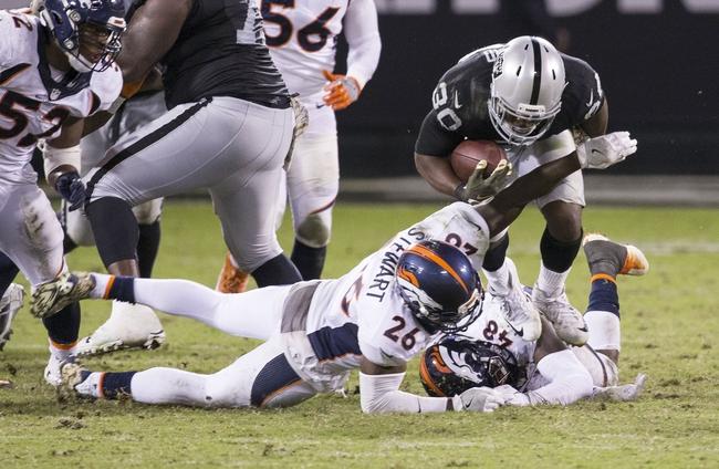 Denver Broncos vs. Oakland Raiders - 1/1/17 NFL Pick, Odds, and Prediction