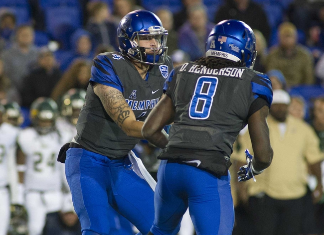 Memphis vs. Houston - 11/25/16 College Football Pick, Odds, and Prediction
