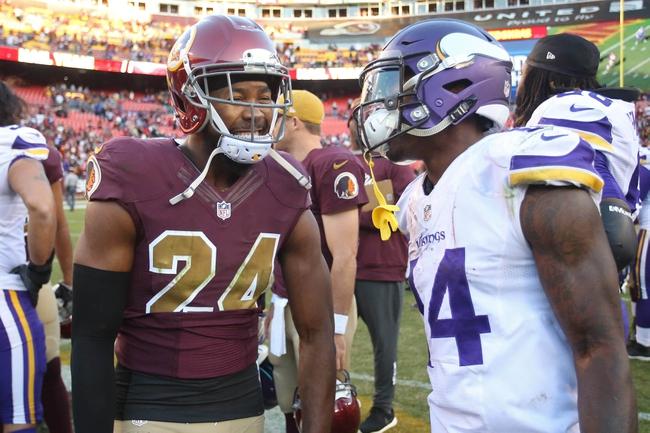Minnesota Vikings at Washington Redskins - 11/12/17 NFL Pick, Odds, and Prediction