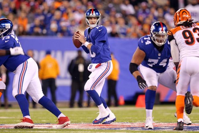 New York Giants vs. Chicago Bears - 11/20/16 NFL Pick, Odds, and Prediction