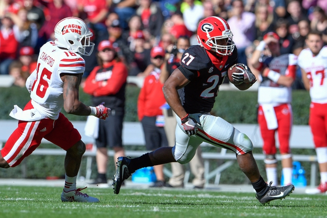 Georgia vs. Georgia Tech - 11/26/16 College Football Pick, Odds, and Prediction