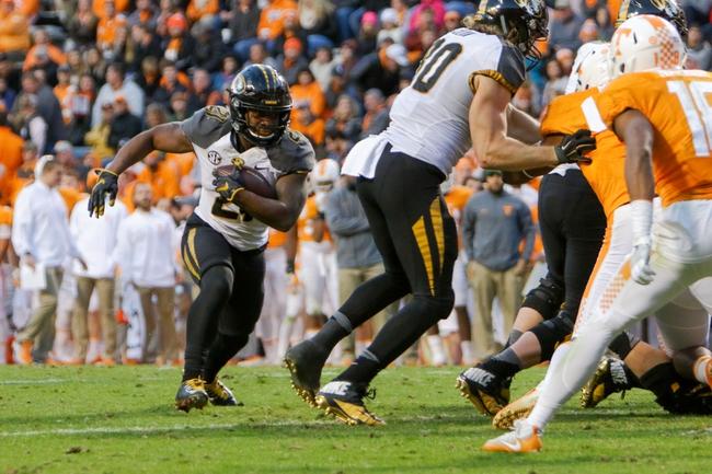 Missouri vs. Arkansas - 11/25/16 College Football Pick, Odds, and Prediction
