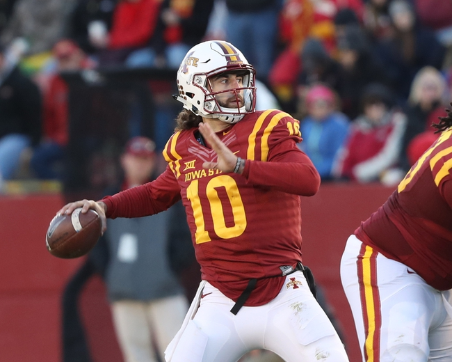 Iowa State vs. Iowa - 9/9/17 College Football Pick, Odds, and Prediction