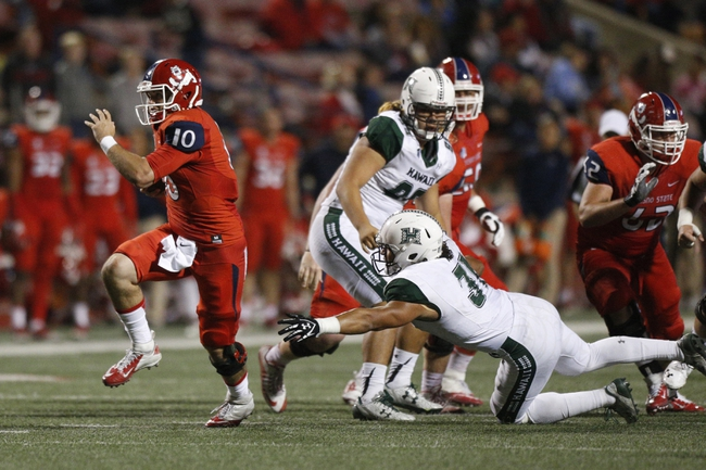 Hawaii vs. Fresno State - 11/11/17 College Football Pick, Odds, and Prediction
