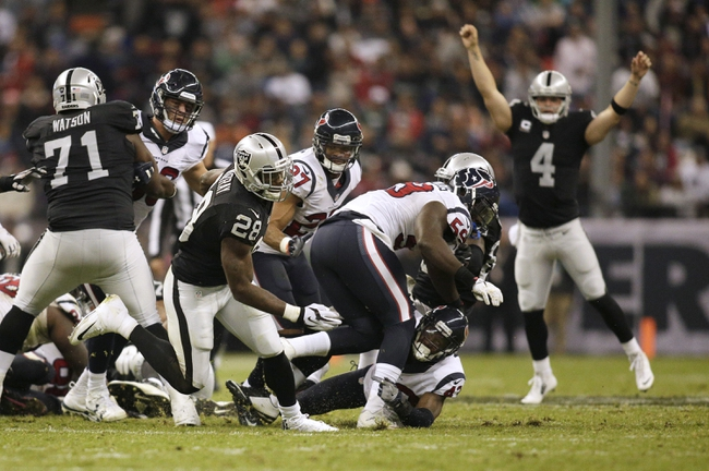 Houston Texans vs. Oakland Raiders - 1/7/17 NFL Pick, Odds, and Prediction