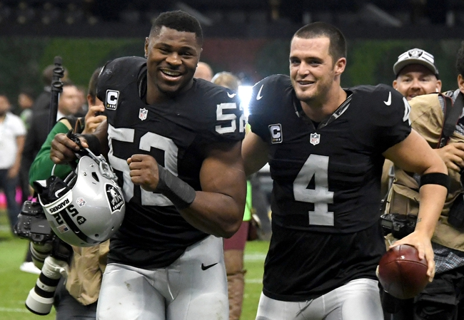 Oakland Raiders vs. Carolina Panthers - 11/27/16 NFL Pick, Odds, and Prediction