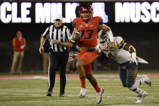 Arizona vs. Northern Arizona - 9/2/17 College Football Pick, Odds, and Prediction
