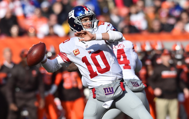 New York Giants at Pittsburgh Steelers - 12/4/16 NFL Pick, Odds, and Prediction