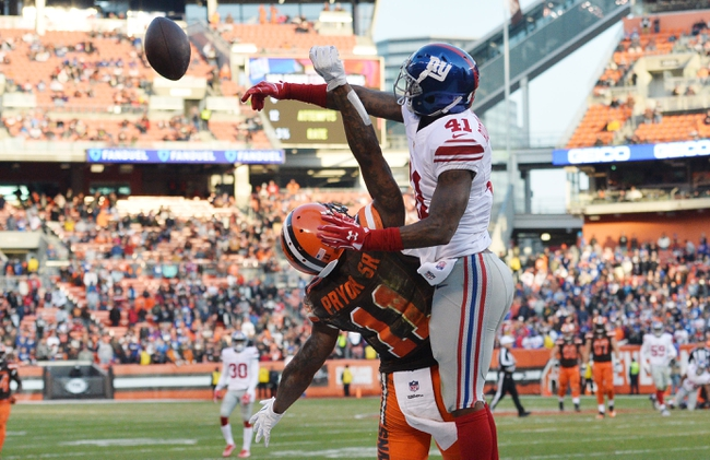 New York Giants at Cleveland Browns - 8/21/17 NFL Pick, Odds, and Prediction