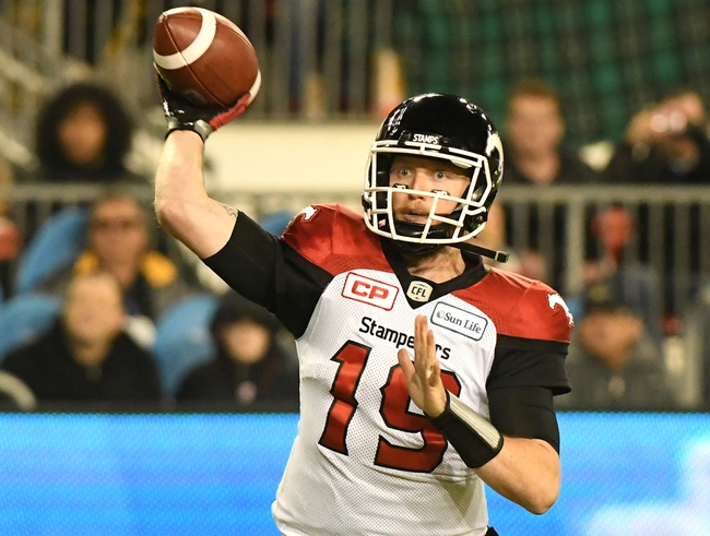 Calgary Stampeders vs. BC Lions CFL Pick, Odds, Prediction - 8/4/18