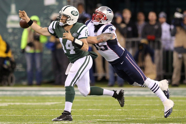 New England Patriots vs. New York Jets - 12/24/16 NFL Pick, Odds, and Prediction