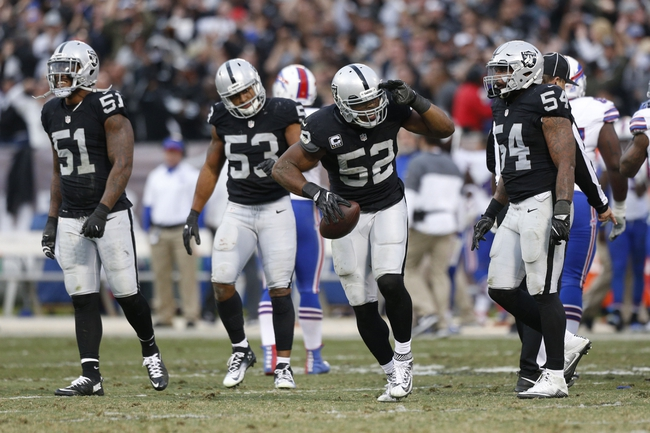 Oakland Raiders vs. Indianapolis Colts - 12/24/16 NFL Pick, Odds, and Prediction
