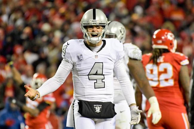 Oakland Raiders vs. Kansas City Chiefs - 10/19/17 NFL Pick, Odds, and Prediction