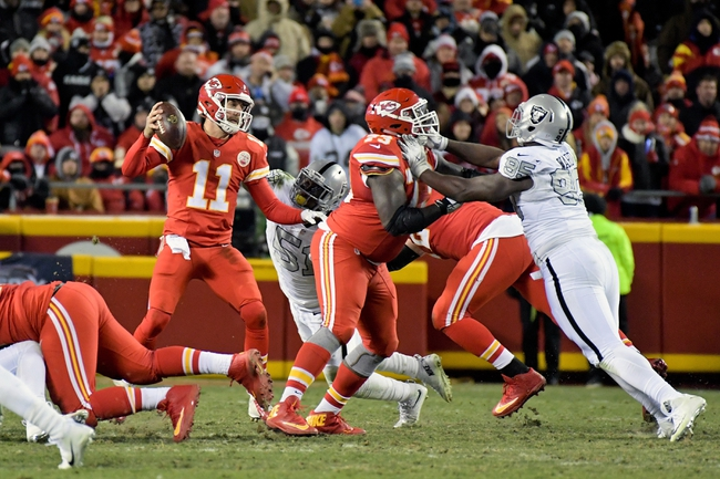 Kansas City Chiefs at Oakland Raiders - 10/19/17 NFL Pick, Odds, and Prediction