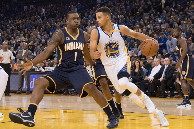 Golden State Warriors vs. Indiana Pacers - 3/27/18 NBA ...