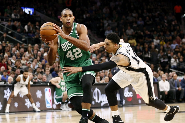 Boston Celtics vs. San Antonio Spurs - 10/30/17 NBA Pick, Odds, and Prediction