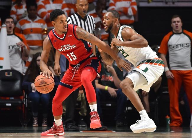 Florida Atlantic vs. Incarnate Word - 11/18/18 College Basketball Pick, Odds, and Prediction