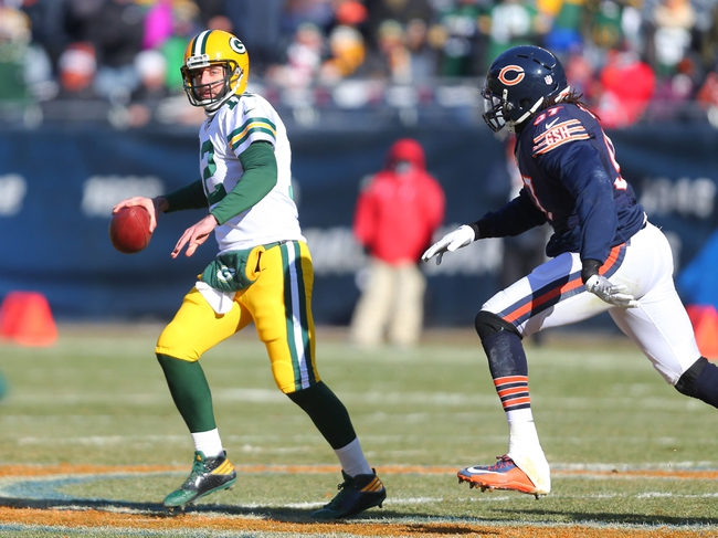 Green Bay Packers vs. Chicago Bears - 9/28/17 NFL Pick, Odds, and Prediction