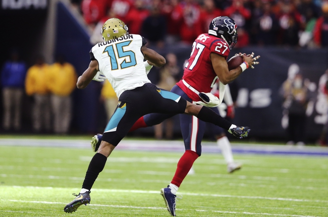 Jacksonville Jaguars at Houston Texans - 9/10/17 NFL Pick, Odds, and Prediction