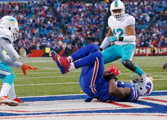 Miami Dolphins at Buffalo Bills - 12/17/17 NFL Pick, Odds, and Prediction
