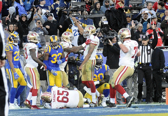 Los Angeles Rams at San Francisco 49ers - 9/21/17 NFL Pick, Odds, and Prediction