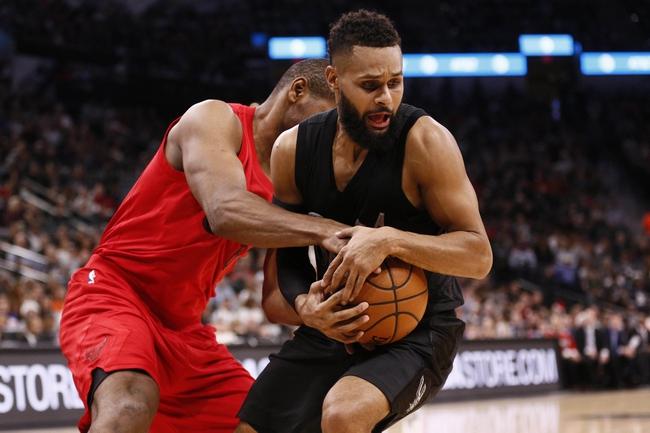 Chicago Bulls vs. San Antonio Spurs - 10/21/17 NBA Pick, Odds, and Prediction