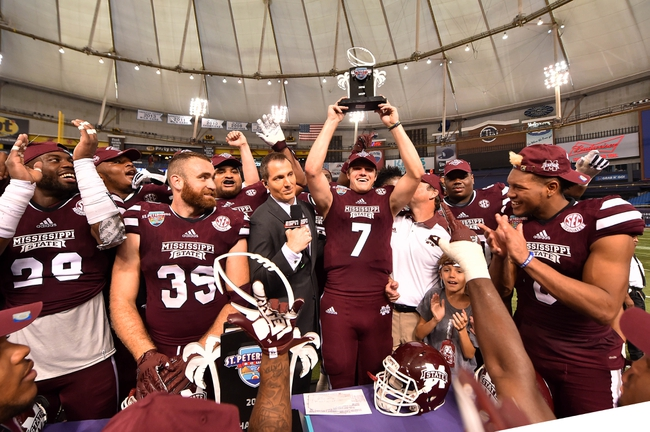 Mississippi State vs. Charleston Southern - 9/2/17 College Football Pick, Odds, and Prediction
