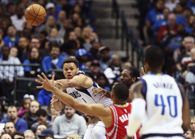 Houston Rockets vs. Dallas Mavericks - 10/21/17 NBA Pick, Odds, and Prediction