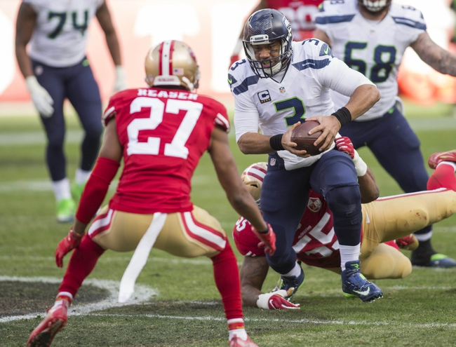 San Francisco 49ers at Seattle Seahawks - 9/17/17 NFL Pick, Odds, and Prediction