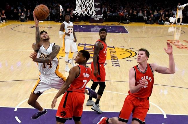 Los Angeles Lakers vs. Toronto Raptors - 10/27/17 NBA Pick, Odds, and Prediction