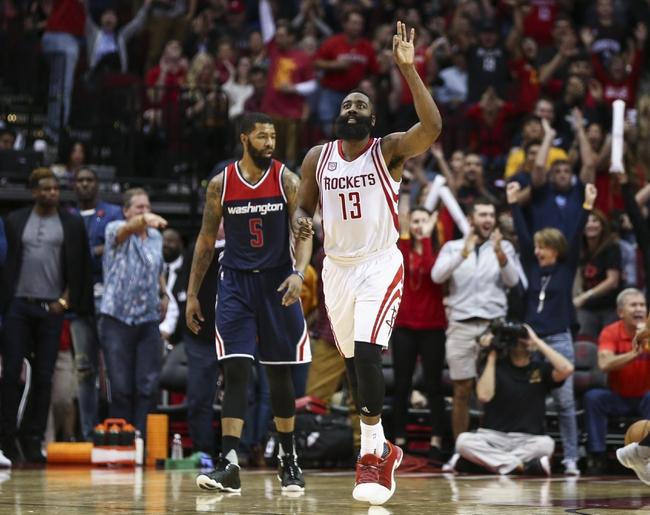 Washington Wizards vs. Houston Rockets - 12/29/17 NBA Pick, Odds, and Prediction