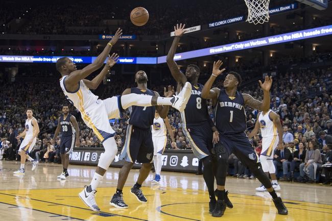 Memphis Grizzlies vs. Golden State Warriors - 2/10/17 NBA ...