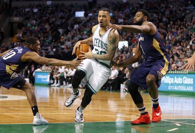 Boston Celtics vs. New Orleans Pelicans - 1/16/18 NBA Pick, Odds, and Prediction