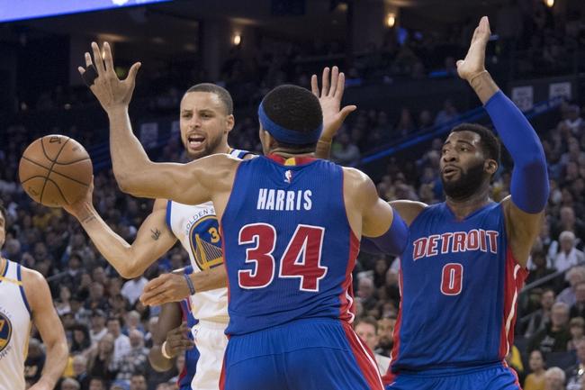 Golden State Warriors vs. Detroit Pistons - 10/29/17 NBA Pick, Odds, and Prediction