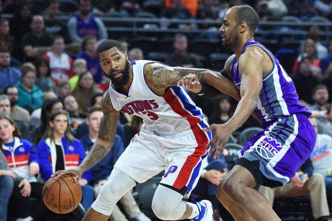 Detroit Pistons vs. Sacramento Kings - 11/4/17 NBA Pick, Odds, and Prediction
