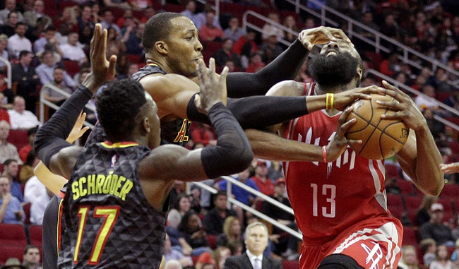 Atlanta Hawks vs. Houston Rockets - 11/3/17 NBA Pick, Odds, and Prediction