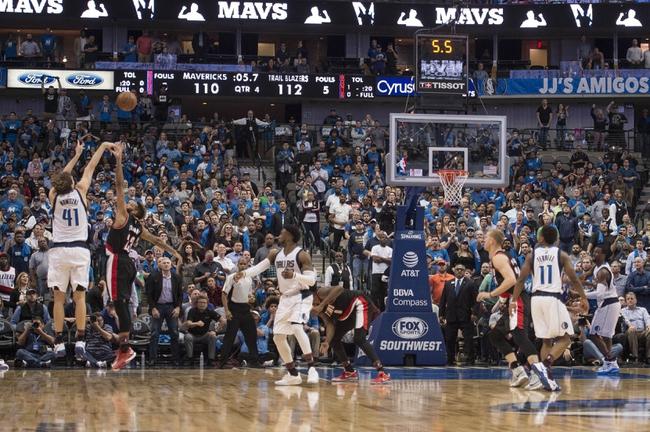 Portland Trail Blazers vs. Dallas Mavericks - 1/20/18 NBA Pick, Odds, and Prediction