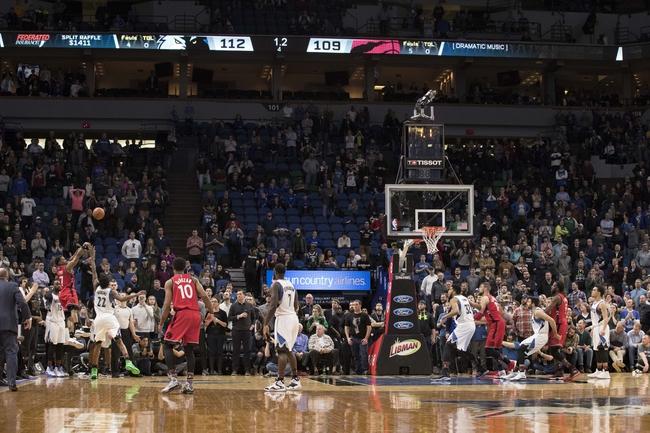 Minnesota Timberwolves vs. Toronto Raptors - 1/20/18 NBA Pick, Odds, and Prediction