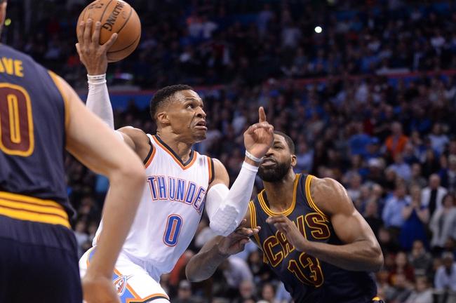 Cleveland Cavaliers vs. Oklahoma City Thunder - 1/20/18 NBA Pick, Odds, and Prediction